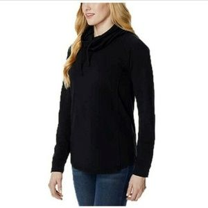 32 Degrees Heat Women Funnel Neck Top Ladies Sweat